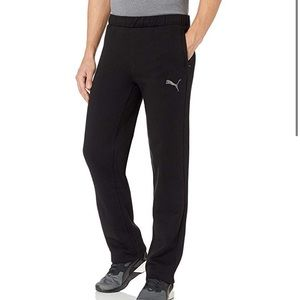PUMA Men's Large Black Sweatpants